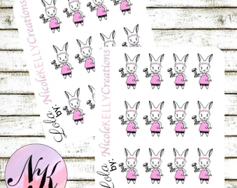 Exclusive custom character Stickers, 12 Stickers, working out sticker, working out, use with Erin Condren Planner(TM), Happy Planner,Planner