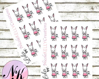 Exclusive custom character Stickers, 12 Stickers, Happy Mail sticker, mail stickers,use with Erin Condren Planner(TM), Happy Planner,Planner