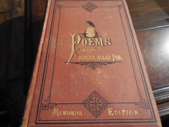 Edgar Allen Poe Essays  Poems The Bells Annabel Lee  Etsy Image
