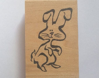Bunny Rubber Stamp - 94A02