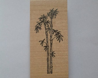 Bamboo Rubber Stamp - 148F04