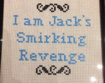 Fight Club Cross Stitch