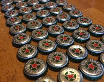 50 Heineken Bottle Caps