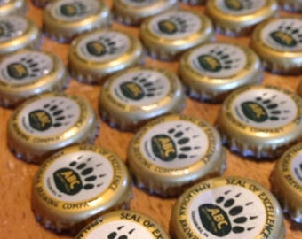 50 Appalachian Brewing Company (ABC) Bottle Caps