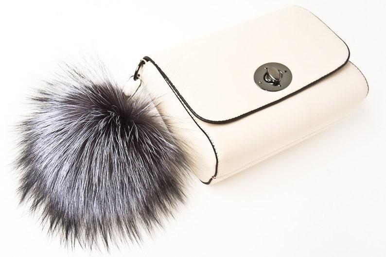 568052a90f85 Bag Charm Fur Keychain Pom Pom Keychain Fur Bag Charm Fur Ball