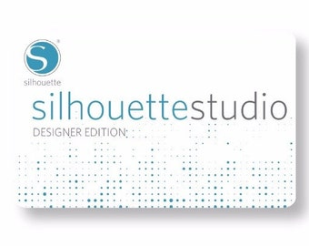 Silhouette Studio Designer Edition License Code for Cameo, Portrait, SD - Emailed - World Wide - A 49.99 Value