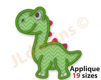 """Machine Embroidered Baby Dinosaur Applique  Size 2.20/"""" x 2.50/"""""""