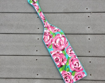 First Impression Inspired Hand-painted Paddle