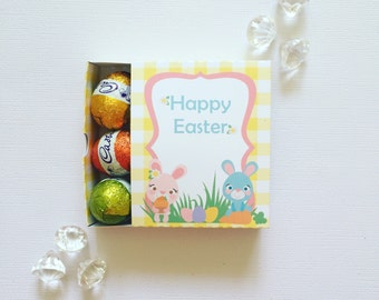 Easter bunnies matchboxes