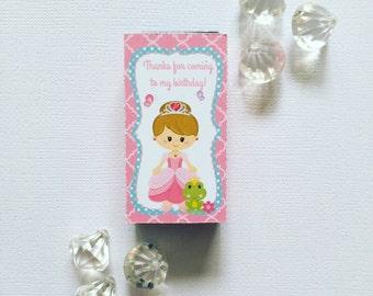 Princess smarties box cover
