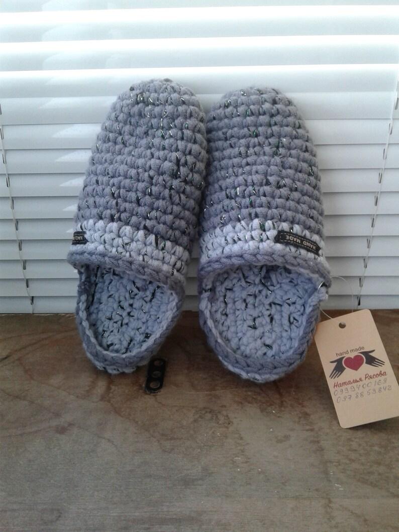fde952944ffb9 Knitted Chuni Slippers 002 Dark Gray Wool Blend handmade home shoes
