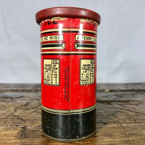Royal Mail Letter Box.Vintage Red Royal Mail Post Box Money Bank Post Office Box British Red With Alphabet Royal Mail Mail Box Money Box Piggy Bank Money