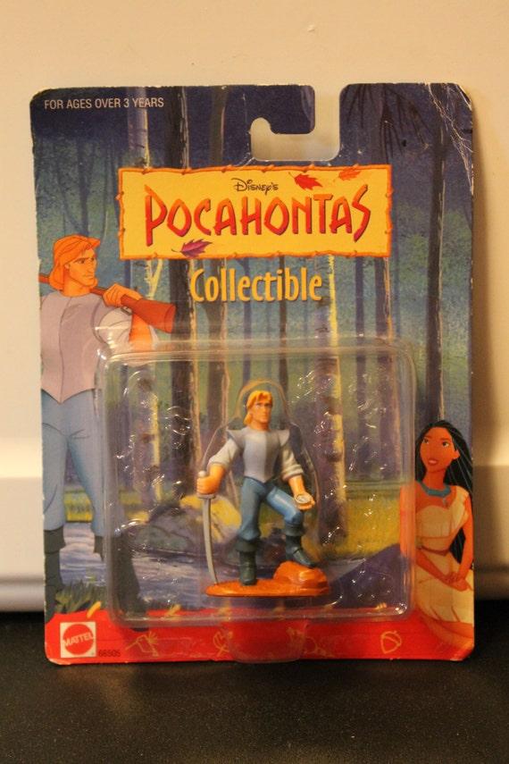 Pocahontas Vinyl Doll John Smith 1995