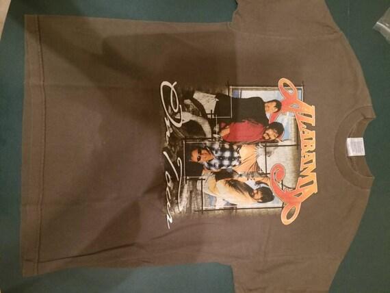 ALABAMA tour shirt 2001 Canadian tour