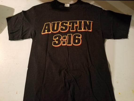 STONE COLD Steve Austin WWF t shirt 1999 Price Dro