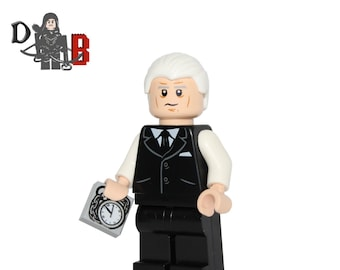 Fifty Shades of Bricks set with Minifigures Made using LEGO parts.
