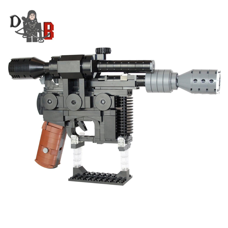 Star Wars Custom Han Solo Dl 44 Heavy Blaster Pistol Made Etsy