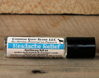 Apothecary Roll-on Headache Relief