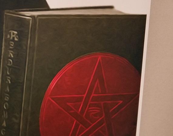 "Aleister Crowley 24/"" x 28/"" Poster Print Art Black Magic Evil Satanic Atheist NEW"