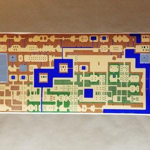 All 6 Retro Subway Maps NES Map Series
