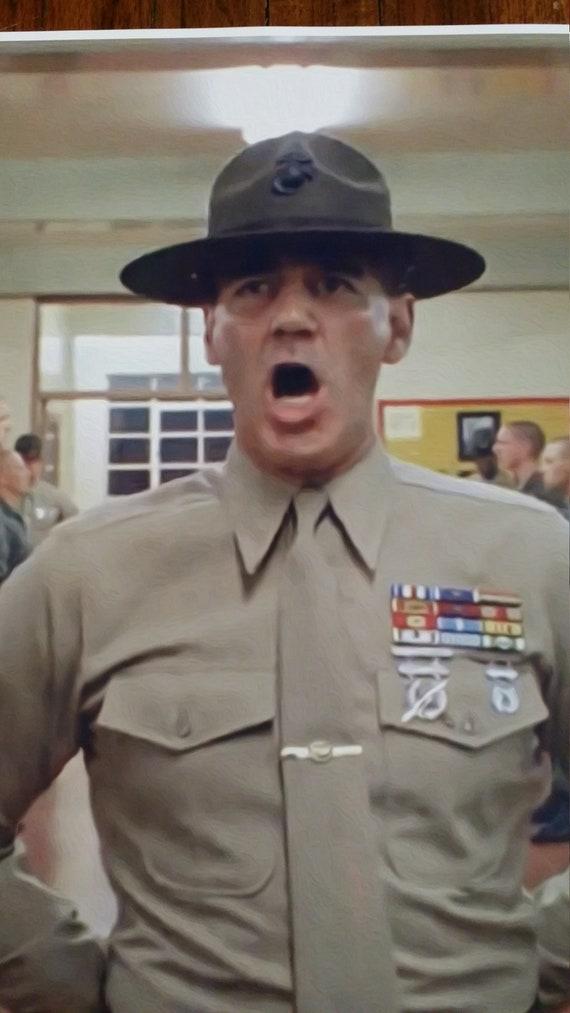 "Full Metal Jacket GIANT WIDE 24/""x 42/"" Movie Poster Print Marines Vietnam War Vet"