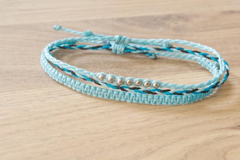 3 Random Bracelets of your colour choice 3 Surprise Bracelets or anklets