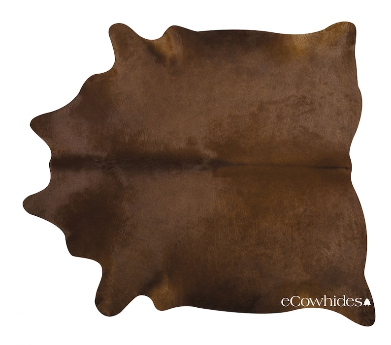 dd50b71f6ce77 Ciemny brąz brazylijski skóry wołowej dywan krowa ukryć