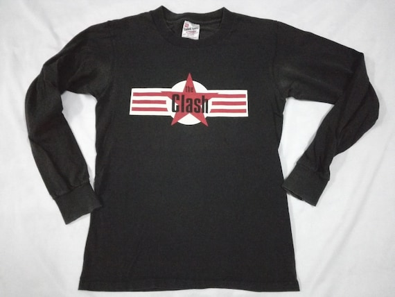 Vintage 90s THE CLASH Punk Rock T Shirt Punk Rock