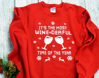 f4ff18c46d0d3 Christmas wine shirt