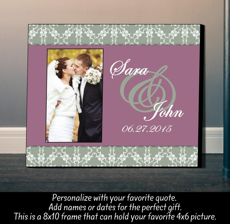 Personalisierte Bilderrahmen Hochzeit Rahmen Hochzeitsdatum   Etsy