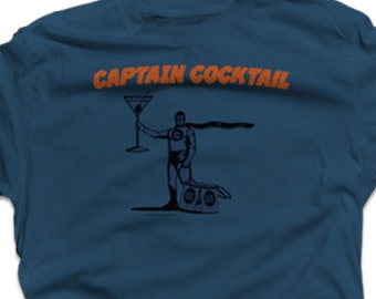 237ed8dbf Fun Drinking Shirt Funny Drinking Shirts for Guys Birthday Gift Boyfriend  Beer Shirts - Captain Cocktail