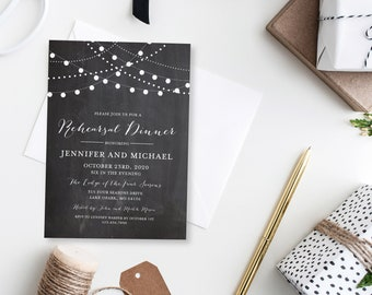 Rehearsal Dinner Invitation Template DIY Rehearsal Invitation Cheap Invitation Rehearsal Invitation INSTANT Download PDF Template #CL103