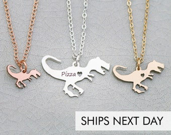 TRex Necklace Tyrannosaurus Jewelry Dinosaur • Necklace T-Rex Gift Dinosaur Party Funny Gift Jurassic Scary Charm Dino Necklace