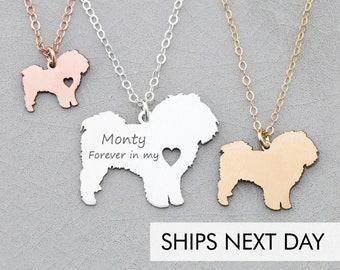 Maltese Necklace • Silver Maltese • Short Hair Dog Pendant • Dog Breed • Sterling Silver Charm • Loss Pet Memorial • New Dog Gift