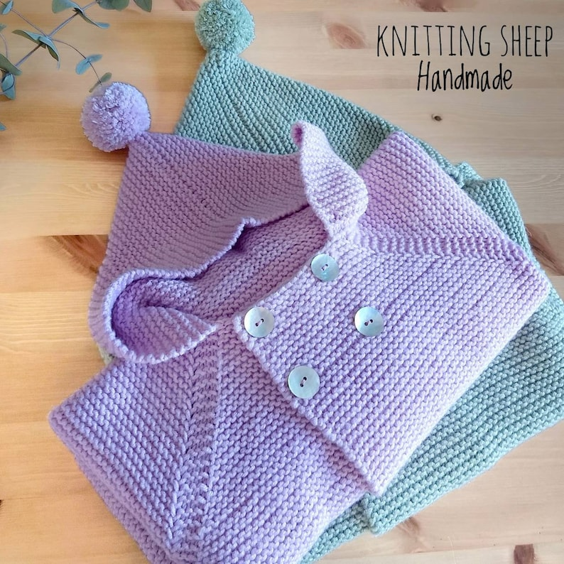 bf1feeec9e7a Alpaca sweater with hood for baby and kids Wool hoodie