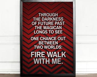 Twin Peaks Quote Etsy