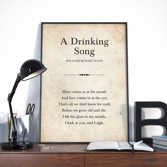 william butler yeats short poems