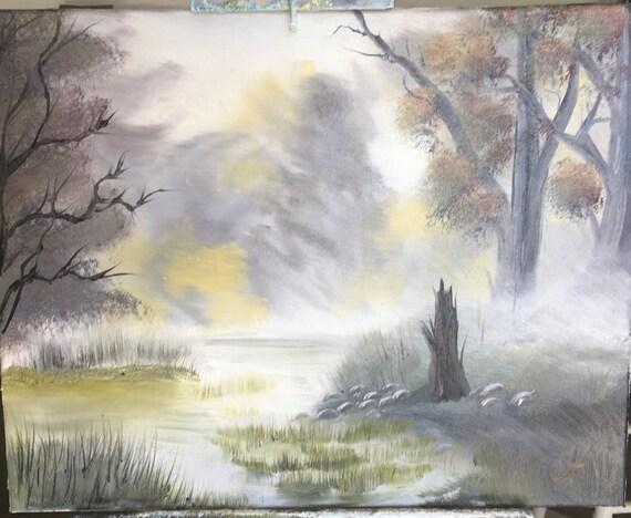 Misty Marsh