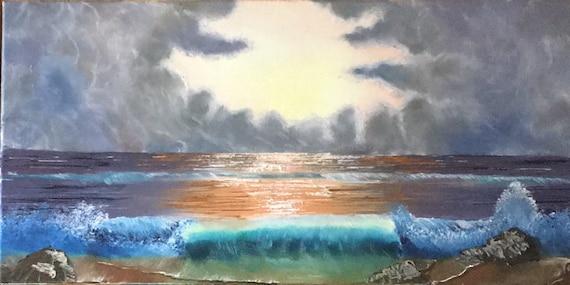 Pastel Morning Wave