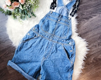 9ae3dfb2aaa TOMMY HILFIGER vintage denim overalls S small spellout rare 90 s 80 s jeans  spring summer flag