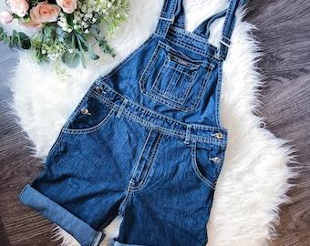 d312de1d5d4 TOMMY HILFIGER vintage denim overalls size XS   S small spellout rare 90 s  80 s jeans spring summer flag