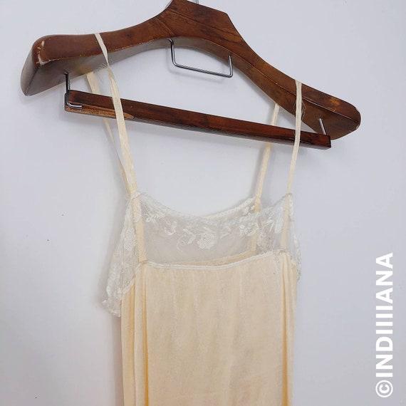 Vintage Circa 1930s Silk Romper/Slip/Teddy Size XS