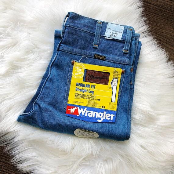 Wrangler Vintage 1980s Highwaisted Jeans Deadstock