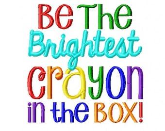 brightest crayon etsy