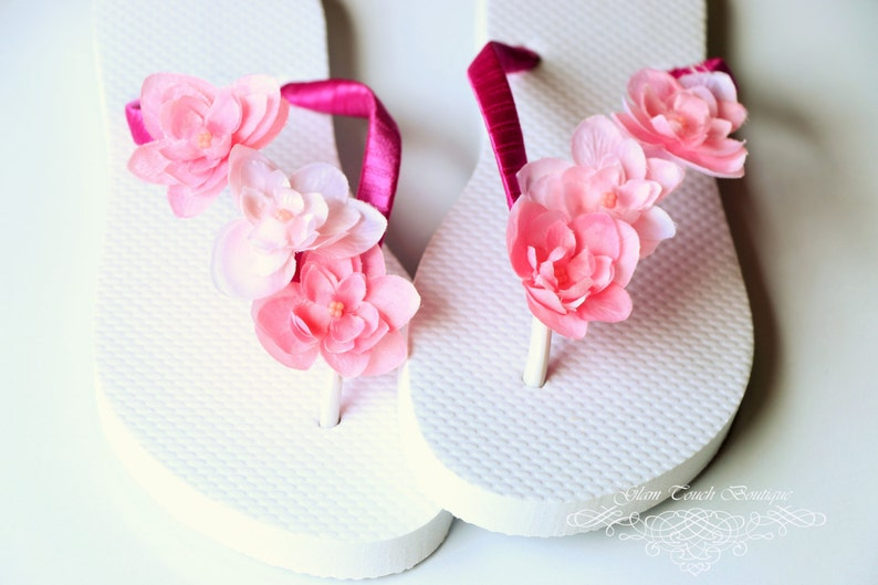 583c57fc536e33 Bridesmaid Flip Flops BRIDAL Flip Flops WEDDING Flip Flops