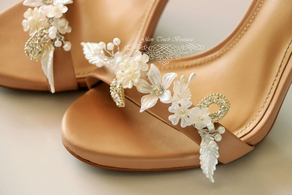193e6ba59e56ba Bridal Shoe Clips Rhinestone shoe clipsShoe Clipswedding