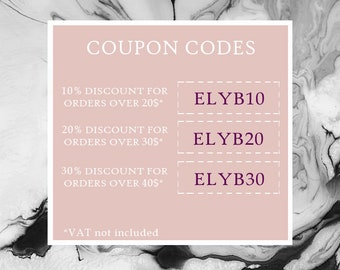 Coupon codes etsy