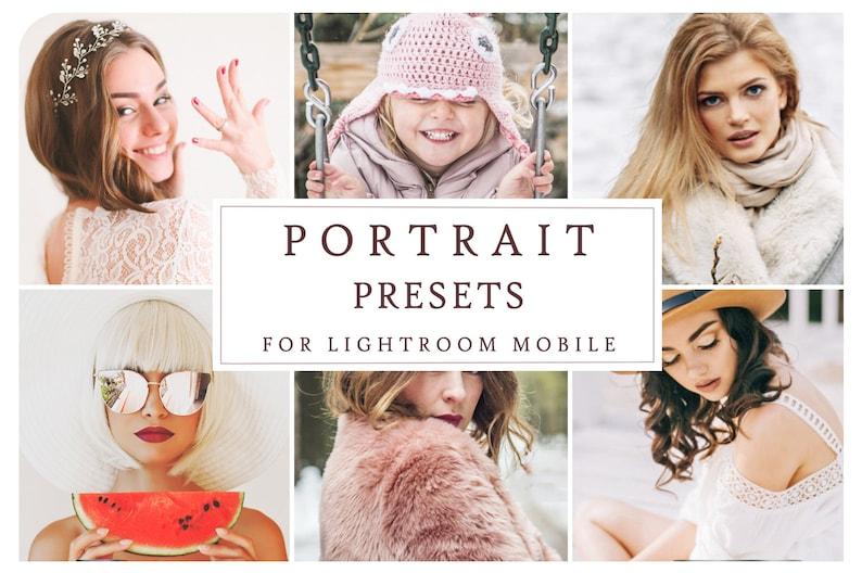 PRO PORTRAIT PRESETS for Lightroom Mobile App