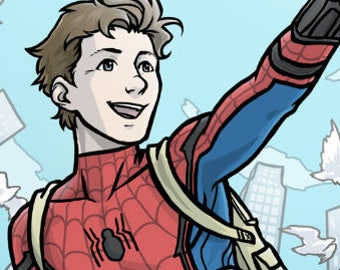 Spiderman Homecoming (PRINT)