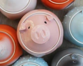 Pig Cookie Jar Etsy